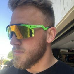 Retroshaded PIT VIPER Themed Sport Goggles Men/Women Polariz