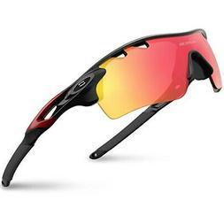 RIVBOS  RBK0801 Sports sunglasses Polarized sunglasses Ski s