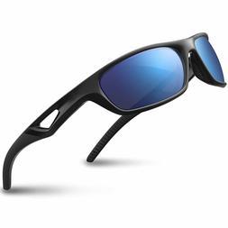 RIVBOS Polarized Sports Sunglasses Driving Sun Glasses Shade