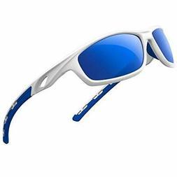 RIVBOS Polarized Sports Sunglasses Driving Sun Glasses for M