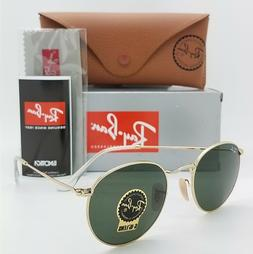 2e97459f34 Ray-Ban ROUND METAL - MATTE GUNMETAL Frame BROWN MIRROR GOLD
