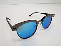 Joopin Semi Rimless Polarized Sunglasses H9041-10 Metal Fram