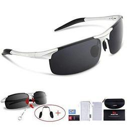 Sport Sunglasses RBS92 RIVBOS Polarizing Lens UV400 Unisex L