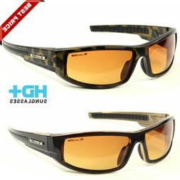 Sport Wrap Hd Night Driving Vision Hd Sunglasses Yellow High