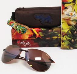 Maui Jim  Sunglasses | Sugar Beach H421-26 | Rootbeer Rimles