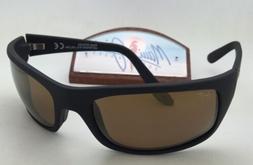 Maui Jim Peahi Sunglasses - Polarized Matte Black Rubber/Hcl