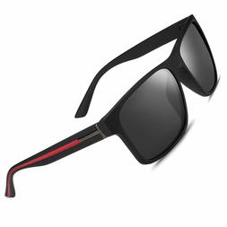 Sunglasses for Men Women Driving Fishing Mens Rectangular Vi