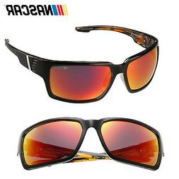 NASCAR Sunglasses Hauler Polarized- Shiny Black/Smoke