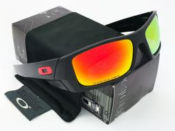 Sunglasses-Polarized@@Gascan-Matte Black/Fire Iridium