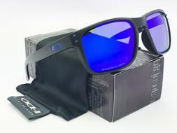2018!Sunglasses Polarized Holbrook Matte Black/Blue Mercury