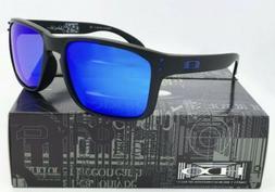 Sunglasses Polarized Holbrook Matte Black/Sapphire Blue Irid