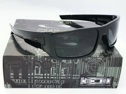Sunglasses Polarized!! Oakley@₅ Bright Black Grey Irid