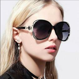 Sunglasses Women Polarized Oversized Designer Fashion Retro