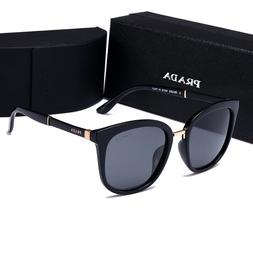 SunglassesSport Polarized@¹Prada@¹Black Frame Grey Lens201