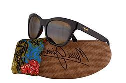 2d60901be0f Maui Jim Sweet Leilani Sunglasses Rootbeer Blue w Polarized