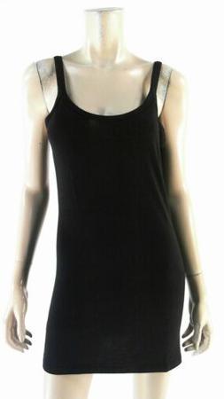 Mossimo Tank Tunic Slip Dress Womens size M Stretch Straight
