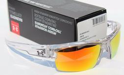 Under Armour UA Igniter Crystal Clear Frame Orange Mirror Mu