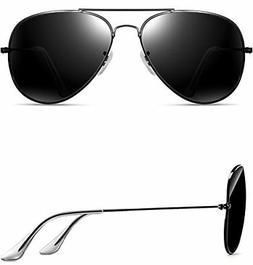 ATTCL Unisex Classic Aviator Driving Polarized Sunglasses Fo