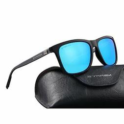 Unisex Polarized Aluminum Sunglasses Vintage Sun Glasses For