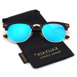 Unisex Polarized Retro Classic Trendy Stylish Sunglasses for