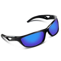 Unisex Polarized Sports Sunglasses for Men Women Cycling Dri