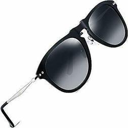 ATTCL Unisex Superlight Vintage Retro Polarized Sunglasses W