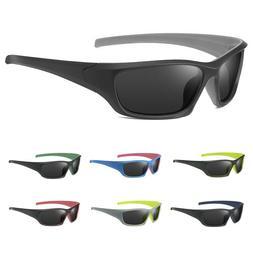 UV400 Mens Polarized Sport Sunglasses Outdoor Fishing Cyclin