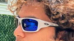 Oakley Valve Sunglasses OO9236-2660 Cool Gray   Deep Blue Po