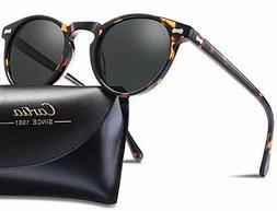 Carfia Vintage Polarized Sunglasses