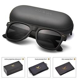 Mens Wayfarer Polarized Sunglasses for Womens UV 400 Protect