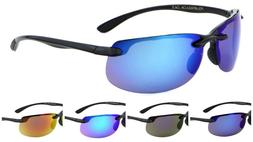 Wholesale 12 Pair Rimless Sport Polarized Sunglasses Color M