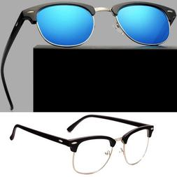 Women Mens Retro Round Polarized Sunglasses Vintage UV400 Ou