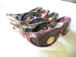 WOMEN'S MEN'S CAMO SUNGLASSES  POLARIZED / NON POLARIZED~UV4