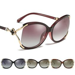 Women's Polarized Sunglasses Driving Eyewear Retro Fashion O