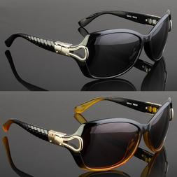 Women Polarized Sunglasses Driving Eyewear Retro Fashion Out