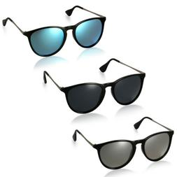 Womens Mens Polarized Sunglasses UV400 Outdoor Vintage Drivi