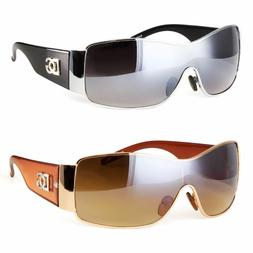 Eyewear Womens Mens Shield Designer Sunglasses Shades Fashio