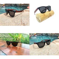 Woodofart Wood Polarized Sunglasses For Men  Women Wayfarer