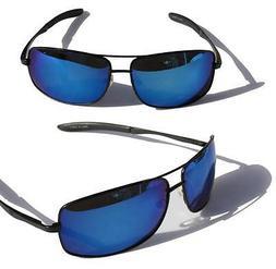 XS PRO Metal frame Polarized sunglasses /w Blue Mirror Lens